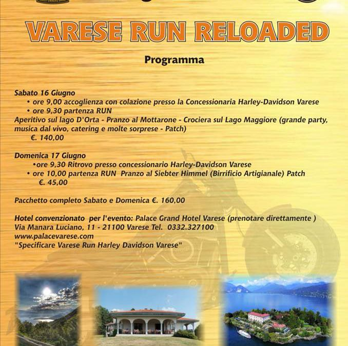 VARESE RUN RELOADED