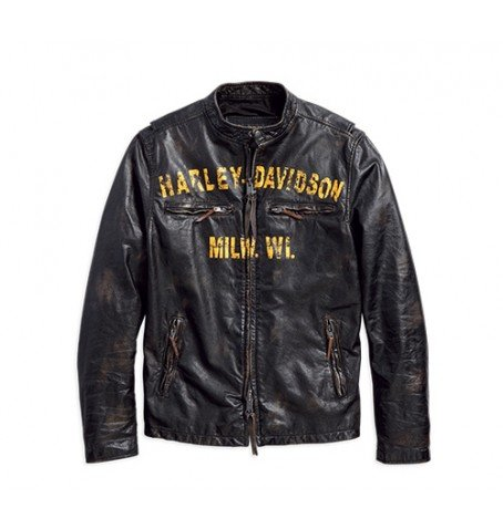 brand new 608d1 8a20d Giacca Pelle Uomo 1903 harley davidson