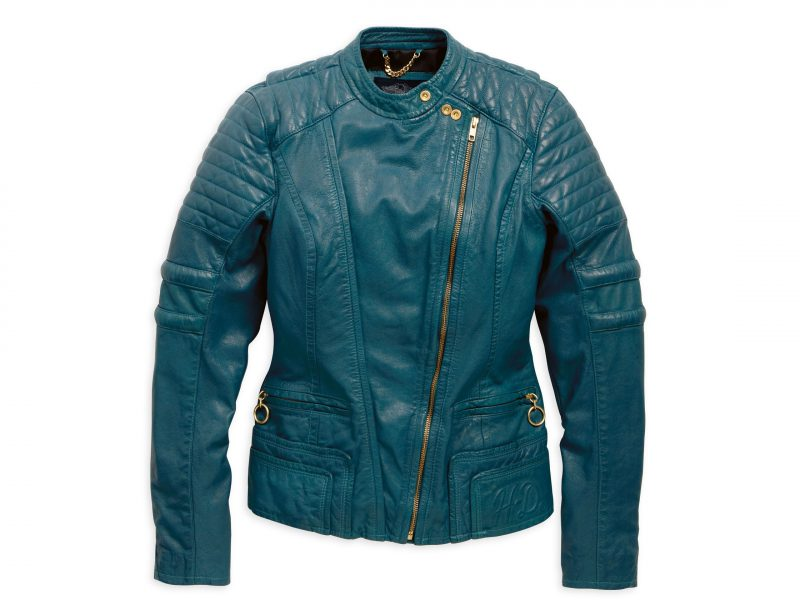Quilted Leather Jacket 97056 15VW