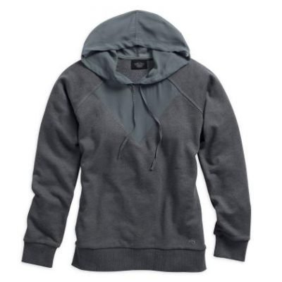 SHEER ACCENT PULLOVER HOODIE 96116 15VW product full
