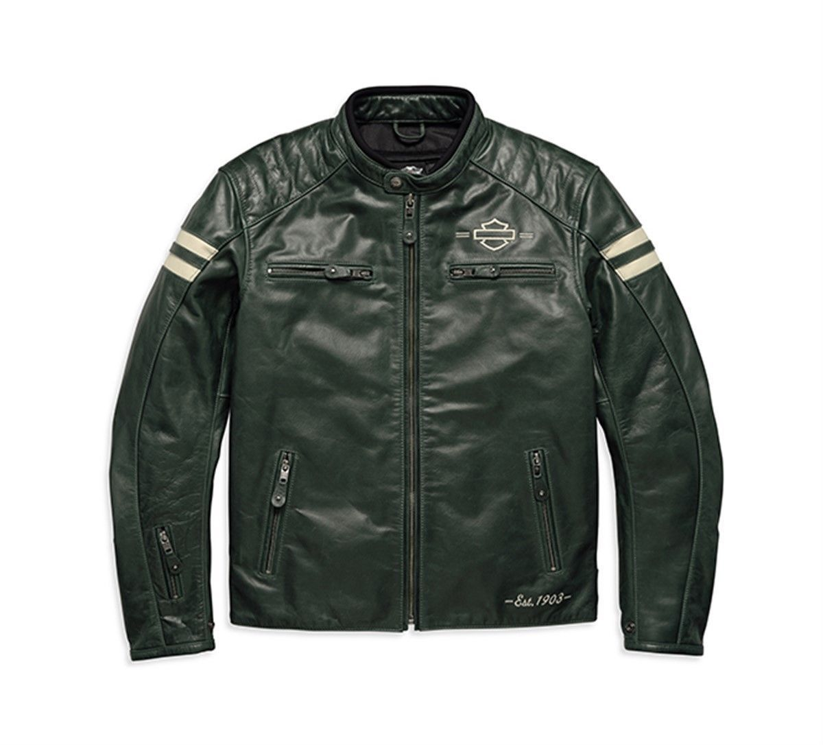 quality design 7c3ae 6f683 Giacca in Pelle Throwback Harley Davidson