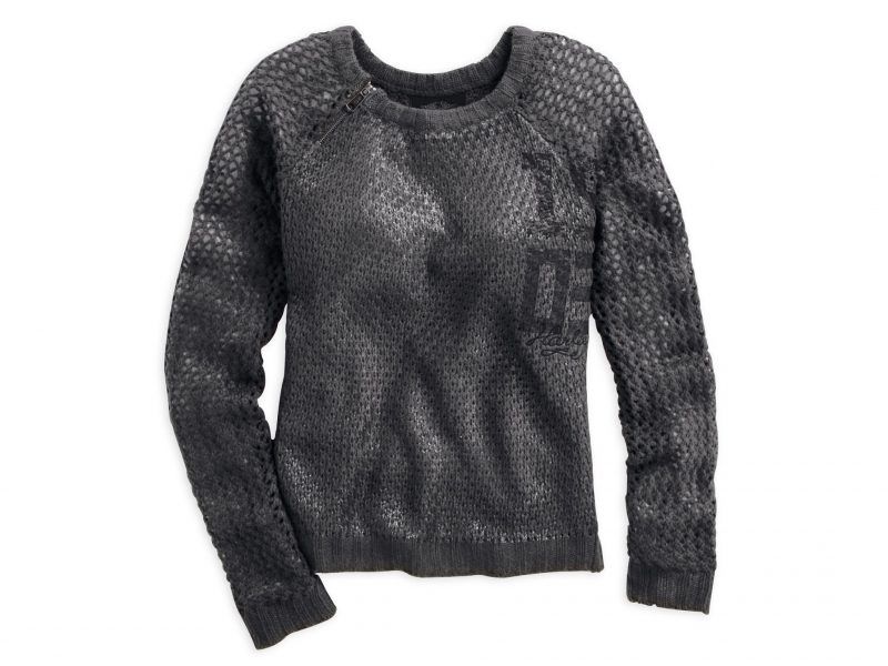 1903 FOIL PRINTED SWEATER 96065 15VW