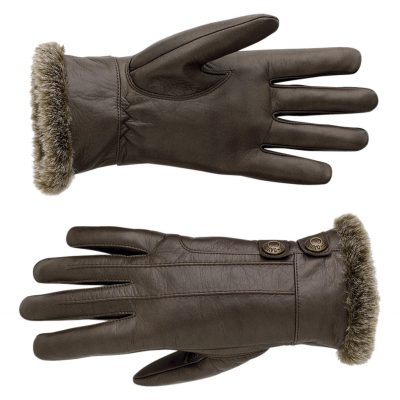 Front Line Leather Gloves 97319 13VW 1