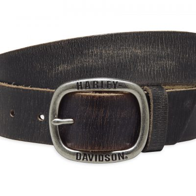 BLACK DISTRESSED BELT 97773 17VM 1