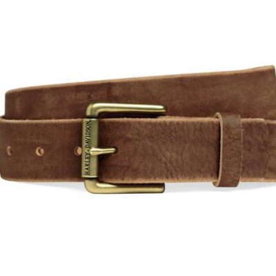 DISTRESSED TAN LEATHER BELT 97714 16VM product full
