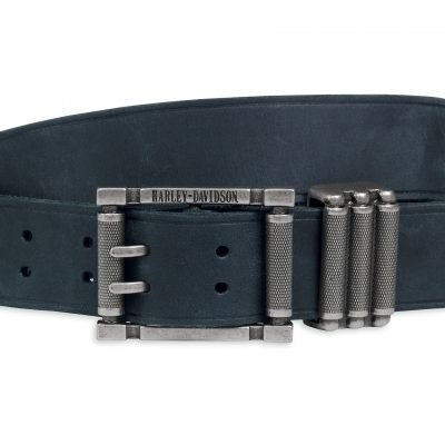 TEXTURED KEEPER LEATHER BELT 97846 17VM