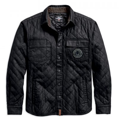 QUILTED CANVAS JACKET 97489 19VM