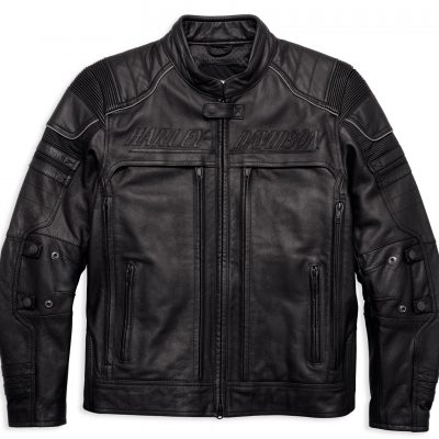 ERVING POCKET SYSTEM LEATHER JACKET 97139 17VM