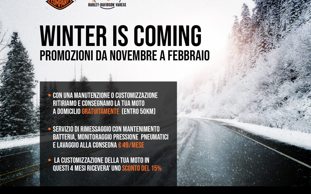 WINTER IN COMING