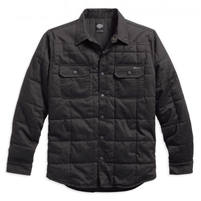 QUILTED SHIRT JACKET 99025 16VM