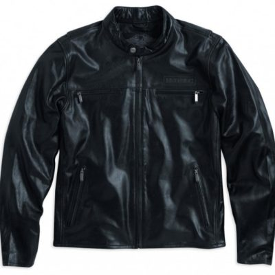 harley davidson black collection la giacca